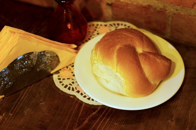 White Knot Roll